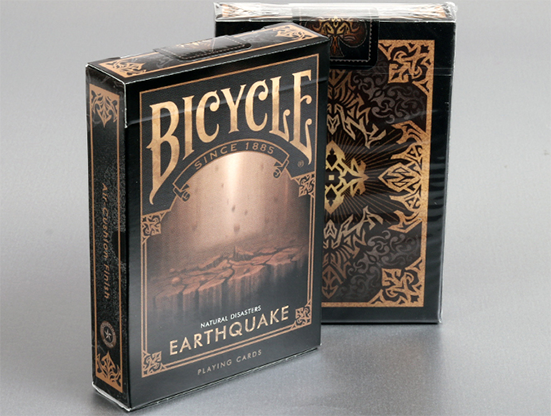 "Cartas Bicycle Natural Disasters ""Earthquake"" Cartas Bicycle de Coleccion"
