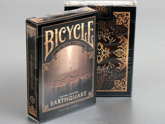 "Cartas Bicycle Natural Disasters ""Earthquake"" Cartas Bicycle de Coleccion"