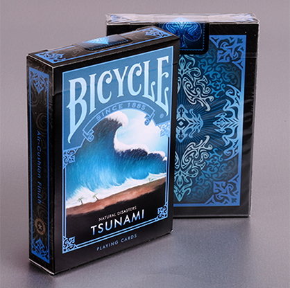 "Cartas Bicycle Natural Disasters ""Tsunami"" Cartas Bicycle de Coleccion"