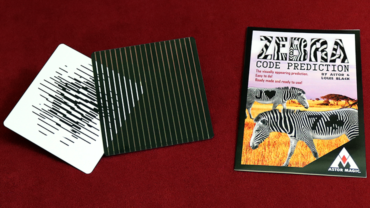 Zebra Code Prediction - Astor & Louis Black