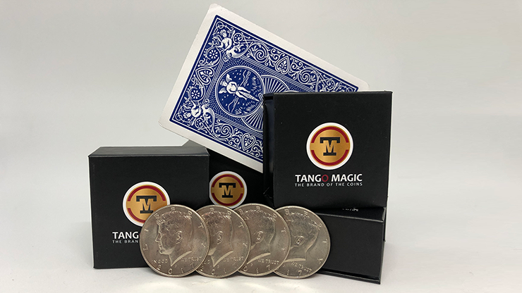 Autho 4 Half Dollar (Gimmicks and Online Instructions) by Tango - Trick