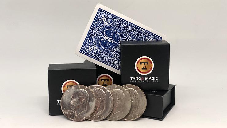 Autho 4 Eisenhower Dollar (D0179) (Gimmicks & Instrucciones Online) - Tango