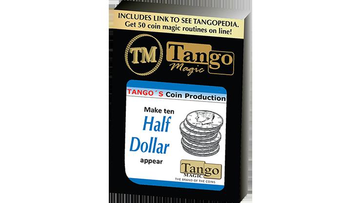 Tango Coin Production - Half Dollar D0186 (Gimmicks & Instrucciones Online) - Tango