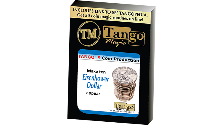 Tango Coin Production - Eisenhower Dollar D0187 (Gimmicks & Instrucciones Online) - Tango