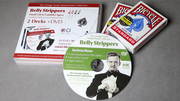 Belly Strippers by Alan Sands -... MagicWorld Magic Shop