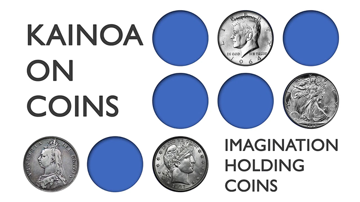 Kainoa On Coins: Imagination Holding Coins - DVD