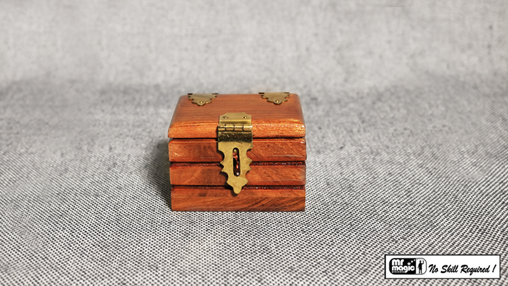 Quarter Go Box (Teak) - Mr. Magic