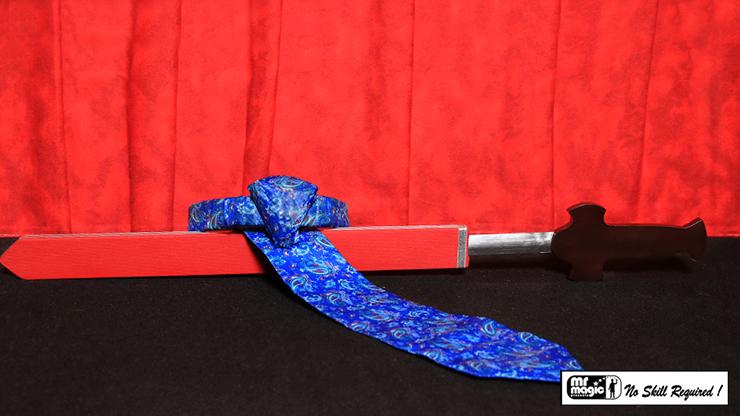 Sword Thru Necktie by Mr. Magic - Trick