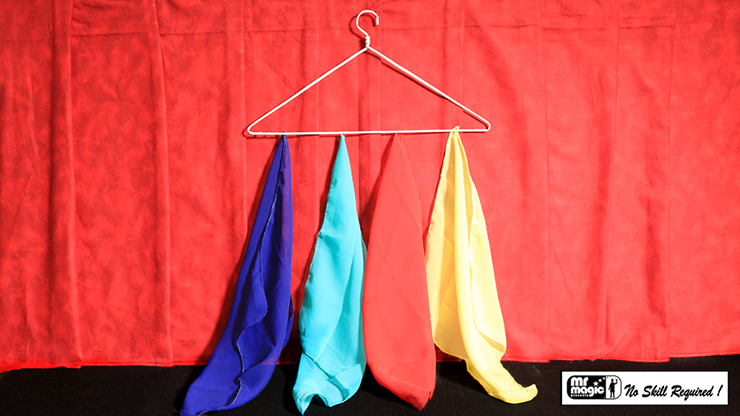 Silk Off Hanger by Mr. Magic - Trick
