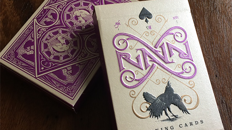 Ravn Purple Haze Playing Cards Designed - Stockholm17