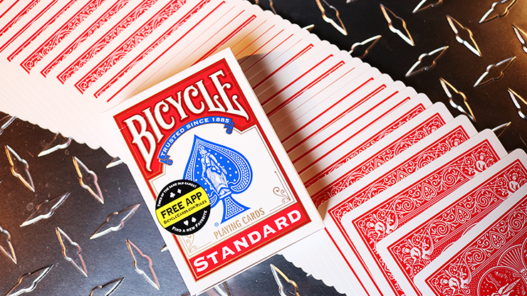 Cartas Bicycle Standard Red Poker Cards (New Box)