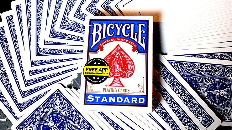 Cartas Bicycle Standard Blue Poker Cards (New Box)