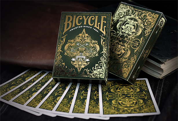 Cartas Bicycle Spirit II (Green) Playing Cards
