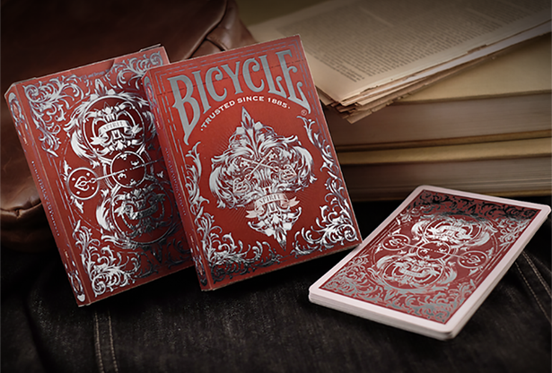 Bicycle Spirit II Red MetalLuxe Playing Cards