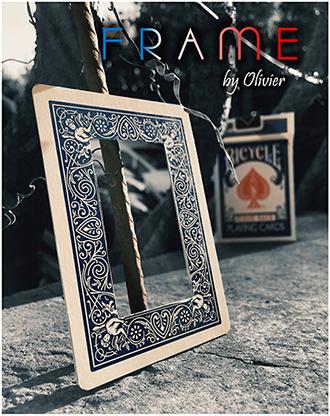 FRAME by Olivier Pont Zuschauerkarte in Kartenrahmen erscheinen lassen
