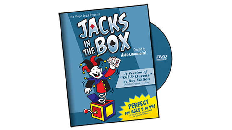 Jacks in the Box by Aldo Colombini - DVD