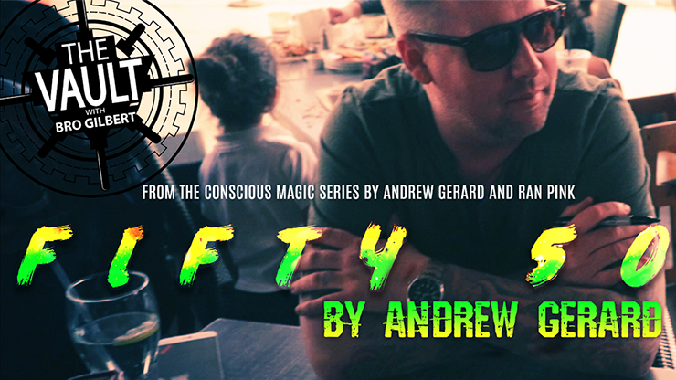 The Vault FIFTY 50 by Andrew Gerard from Conscious Magic Episode 2 video DOWNLOAD