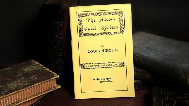 The Nikola Card System - Louis Nikola