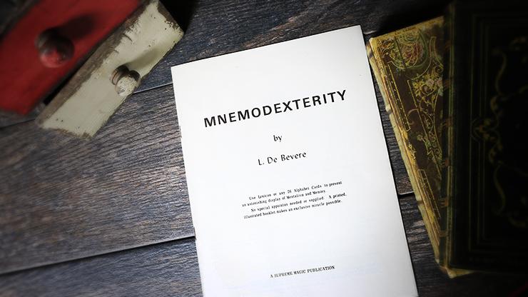Mnemodexterity - L. De Bevere