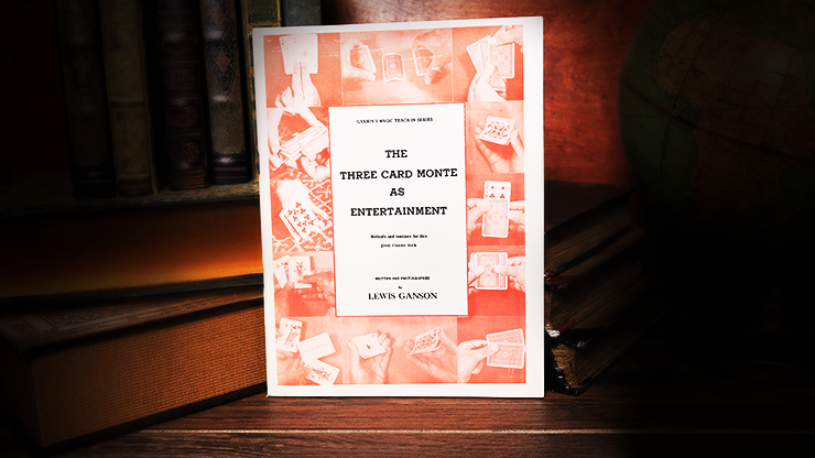 The Three Card Monte as Entertainment by Lewis Ganson - Book