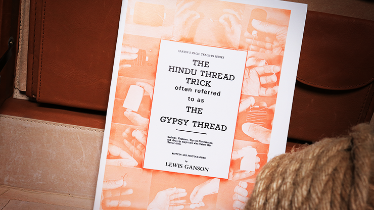 The Hindu Thread Trick by Lewis Ganson - Trick