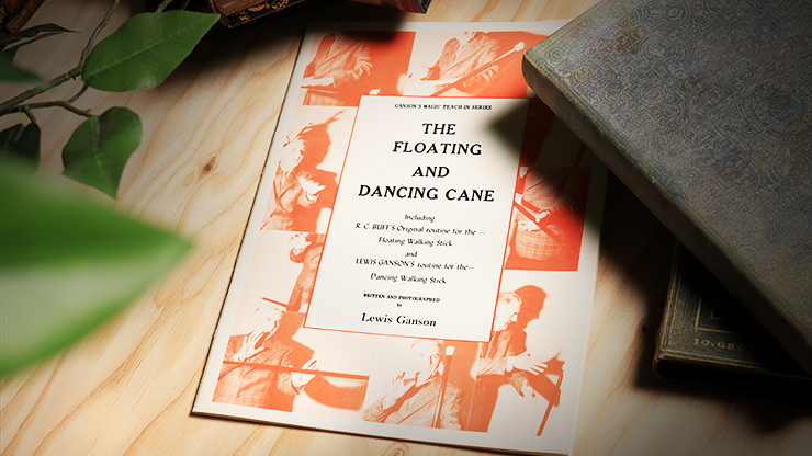 The Floating and Dancing Cane by Lewis Ganson - Book