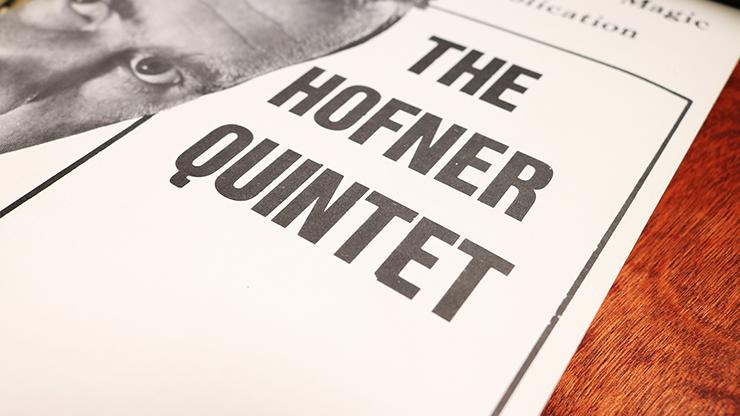 The Hofner Quintet - John Hofner - Libro de Magia