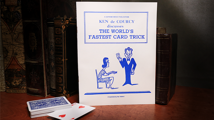 The World's Fastest Card Trick - Ken de Courcy