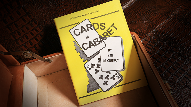 Cards in Cabaret by Ken de Courcy - Book