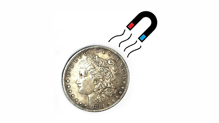 Steel Morgan Dollar Replica (1 coin) by Shawn Magic