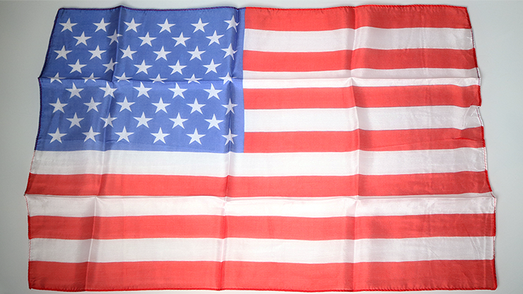 Mismade Flag With A Twist (14 inch  x 21 inch) by Magic by Gosh - Trick