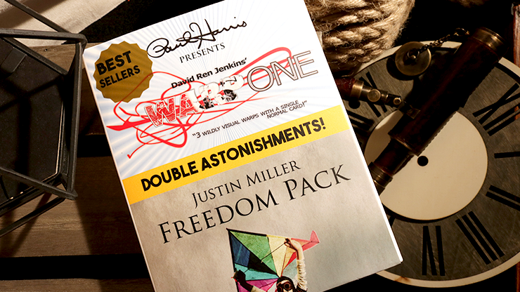 Paul Harris Presents Warp One/Freedom Pack Double Astonishments - Justin Miller & David Jenkins