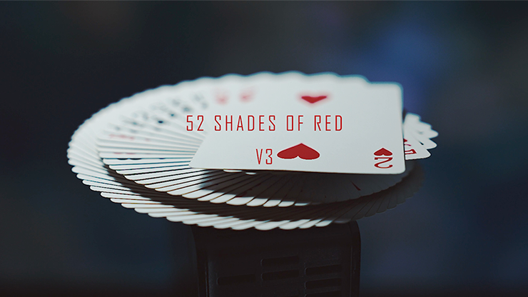 52 Shades of Red (Gimmicks included) Version 3 - Shin Lim