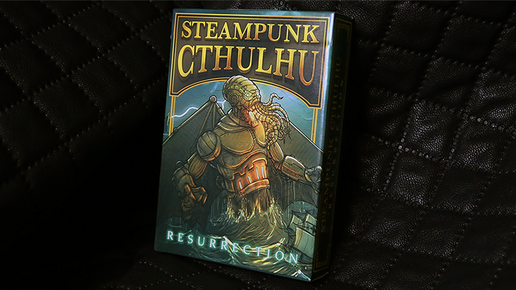 Bicycle Steampunk Cthulhu Resurrection Deck by Nat Iwata