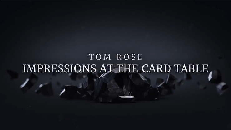 Impressions at the Card Table (2 DVD Set) by Tom Rose