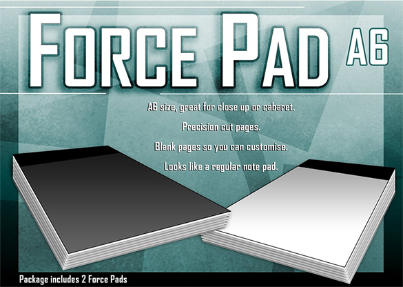 Force Pad (Medium/BLANCO) Set of Two - Warped Magic