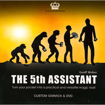 5th Assistant (Gimmick and DVD) by Geoff Weber and The Blue Crow