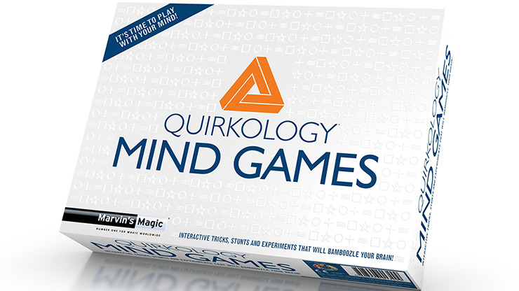 Marvin's Magic Presents Quirkology by Richard Wiseman