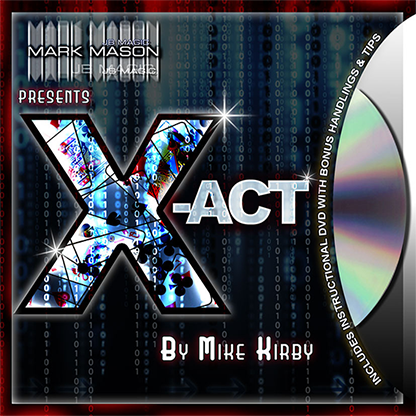 X-act (Blue) - Mike Kirby