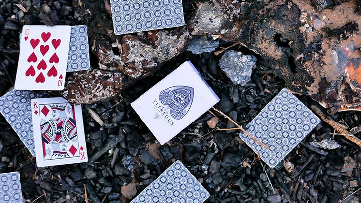 Vitreous Playing Cards - R.E. Handcrafted
