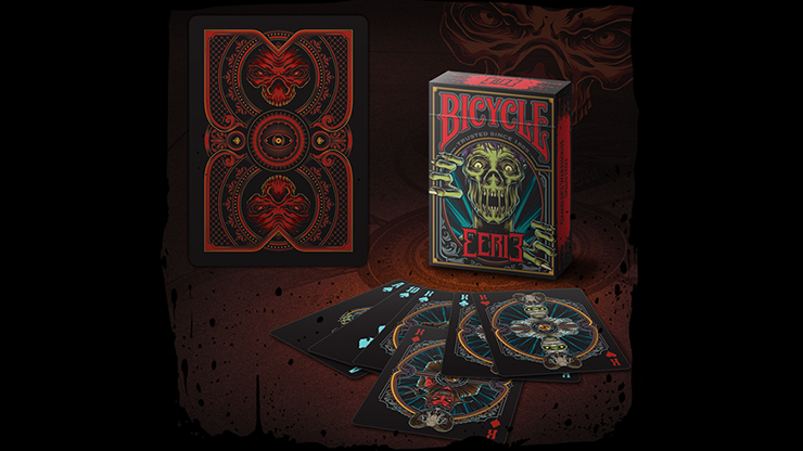 Cartas Bicycle Eerie (Red) Playing Cards