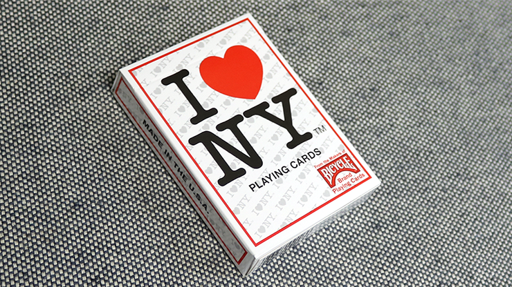 Cartas Bicycle I Love NY Playing Cards