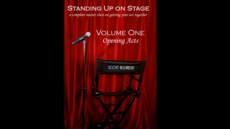 Standing Up on Stage Volume 1 Opening Acts - Scott Alexander - DVD