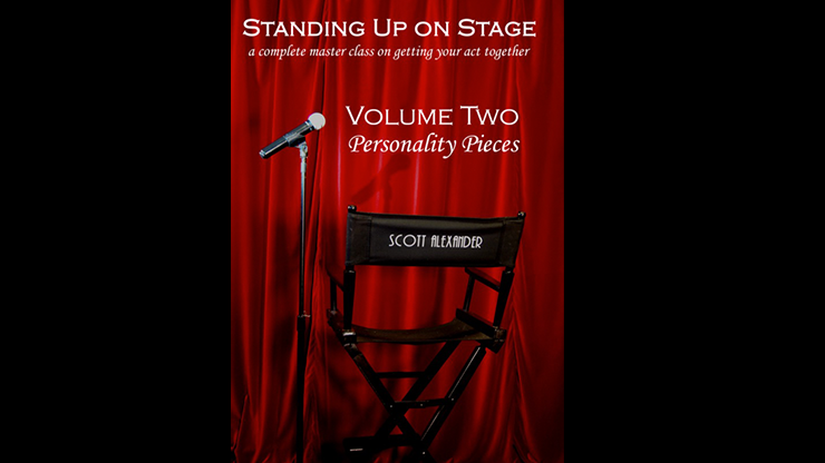 Standing Up on Stage Volume 2 Personality Pieces - Scott Alexander - DVD