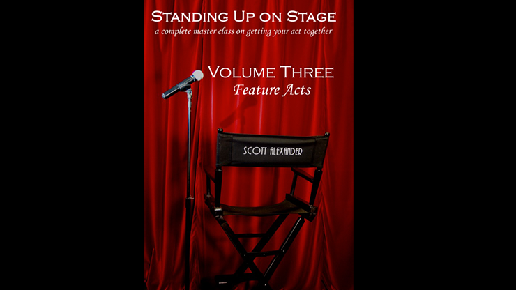 Standing Up on Stage Volume 3 Feature Acts