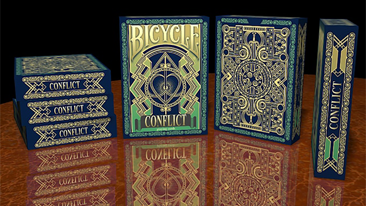 Bicycle Conflict Playing Cards by Collectable Playing Cards