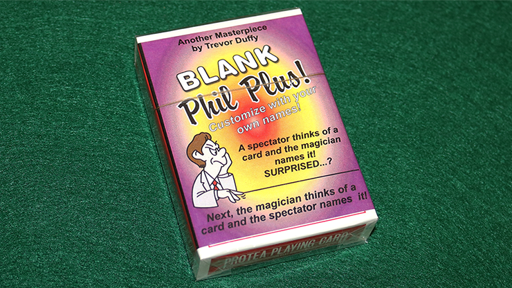 Blank Phil Plus 2 (Version 2) by Trevor Duffy