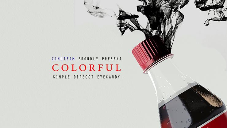 COLORFUL by Zihu Farbverwandlungs-Gimmick für Flaschenverschlüsse