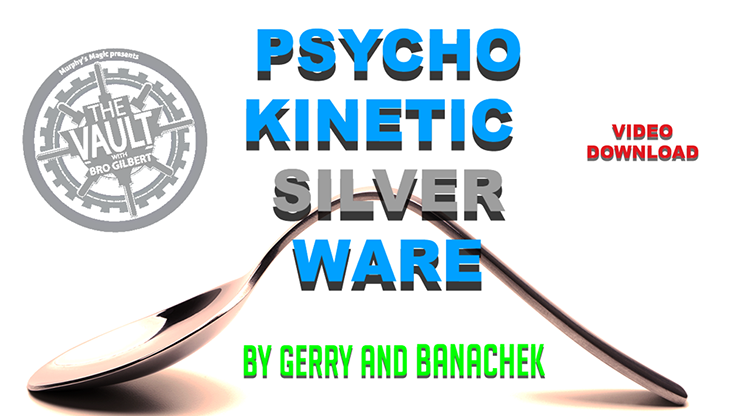 Psychokinetic Silverware by Gerry and Banachek
