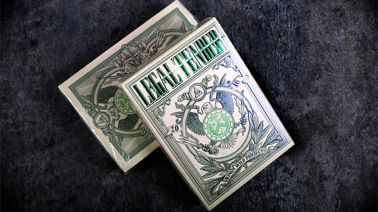 Legal Tender (US Version) Playing Cards by King's Wild